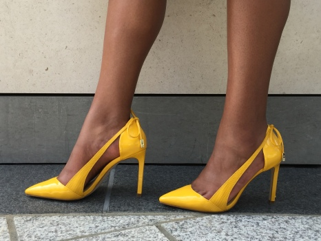 Yellow Zara Heels-$25